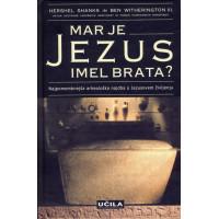 MAR JE JEZUS IMEL BRATA
