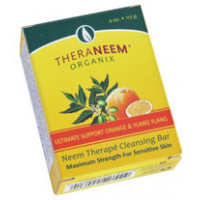 TheraNeem neemovo milo Maximum strength Orange & Ylang Ylang -  s pomarančo in Ylang Ylangom 113 g