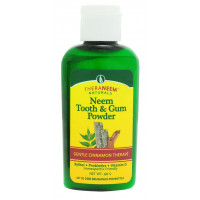 Prah za zobe in dlesni z neemom in cimetom - Neem Tooth and gum powder Cinammon  40 g
