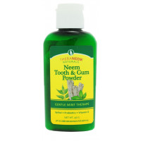 Prah za zobe in dlesni z neemom in poprovo meto, Neem Tooth and gum powder Mint  40 g