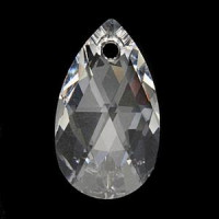 Kristal Swarovski Kapljica (solza) 38 mm
