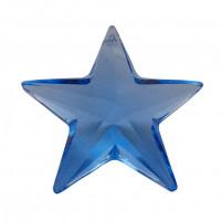 kristal Swarovski modra zvezdica - obesek