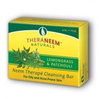 TheraNeem neemovo milo z limonsko travo & pačulijem za mastno in k aknam nagnjeno kožo 113 g