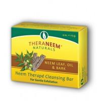 TheraNeem neemovo milo z listi, oljem in lubjem za nežen piling 113 g