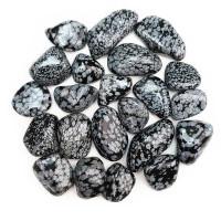Ročni kamen snežni obsidijan