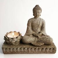 Kip Buda s svečko 14 cm