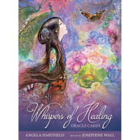 Karte Whispers of Healing oracle cards