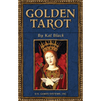 Karte Golden tarot by Kat Black