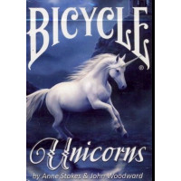 Karte Bicycle Anne Stokes Unicorns