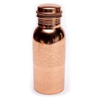Bakrena flaška z cvetnim vzorcem 500 ml