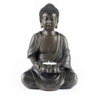 Kip Buda s svečko, temen 23 cm