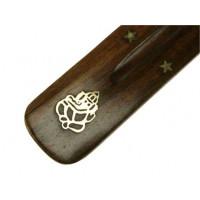 Podstavek za dišeče palčke Ganeš, les