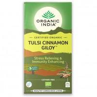 Čaj Tulsi Cinnamon Giloy -  Tulsi  cimet guduči 25 čajnih vrečk