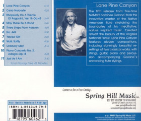 CD Lone Pine Canyon