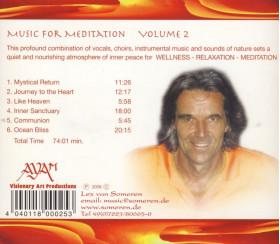 CD Music for meditation