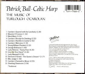 CD Celtic Harp - The music of Turlough O'Carolan