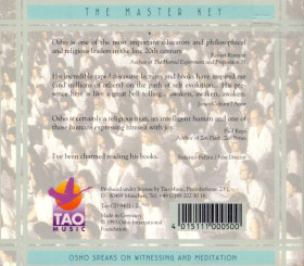 CD The master key - Osho speaks on Witnessing & Meditation
