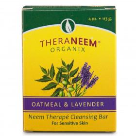 TheraNeem neemovo milo z ovsem in sivko za občutljivo kožo 113g