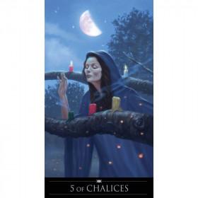 Karte Silver Witchcraft Tarot