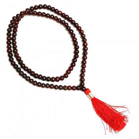 Mala ali meditacijska ogrlica rožni les - otroška velikost