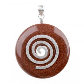 Obesek Jaspis donut 4 cm