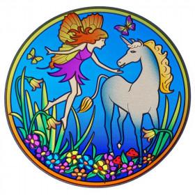 Nalepka za steklo Sunseal Magic Unicorn - Čarobni samorog