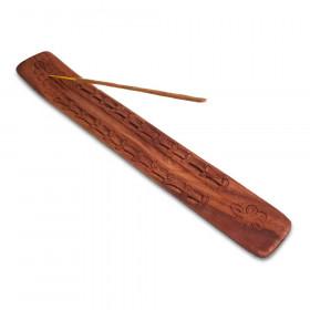 Podstavek za palčke lesen rezljan