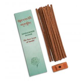 Dišeče tibetanske palčke Sandalwood incense - Sandalovina - The Pure Scent of Sandal 20g