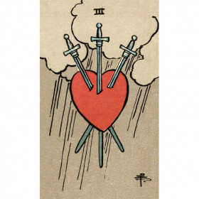Karte Smith-Waite tarot deck