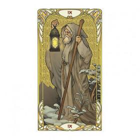 Karte Golden Art Nouveau Tarot