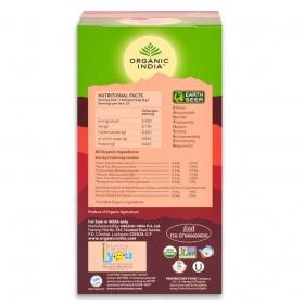 Čaj Tulsi Pomegranate Green - Tulsi z granatnim jabolkom in z zelenim čajem 25 čajnih vrečk