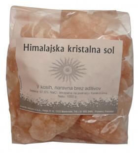 Himalajska kristalna sol v kosih 1 kg