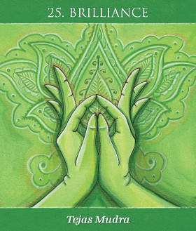 Karte Mudras for awakening the energy body