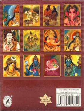 Kartice s kuvertami Gift set Vedic Cosmos