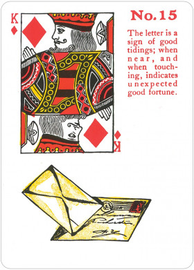 Karte Ciganske igralne karte Gypsy Witch fortune telling playing cards