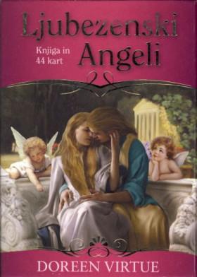 Ljubezenski angeli (karte s knjižico)