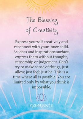 Karte Namaste Blessing & Divination cards