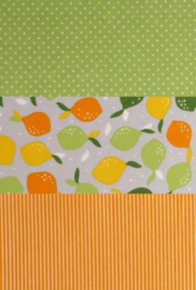 Food Wrap Lemonade - ekološke povoščene krpice za shranjevanje hrane