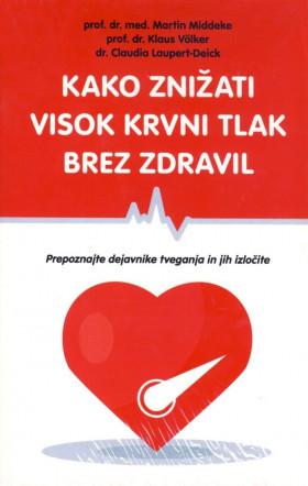 Kako znižati visok krvni tlak brez zdravil