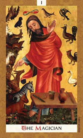 Karte Golden tarot by Kat Black