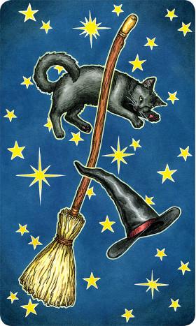 Karte Everyday Witch Tarot