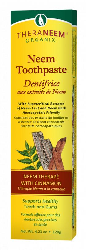 Zeliščna zobna pasta Theraneem Neem s cimetom 120g